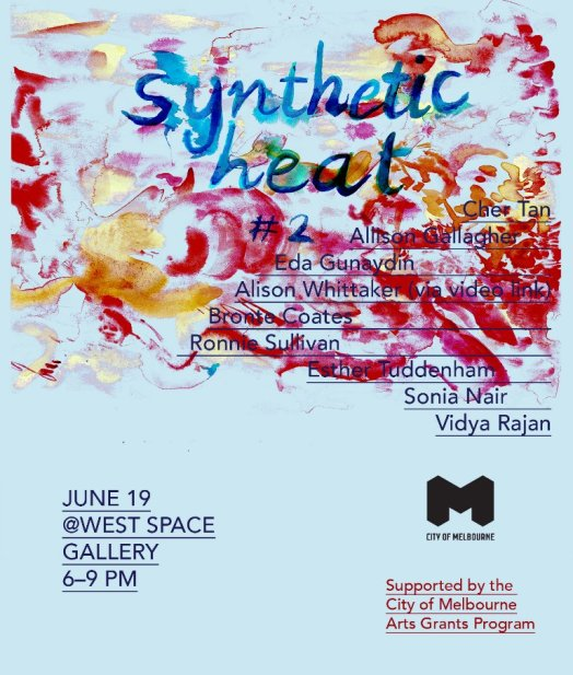 synthetic heat 2.3 poster