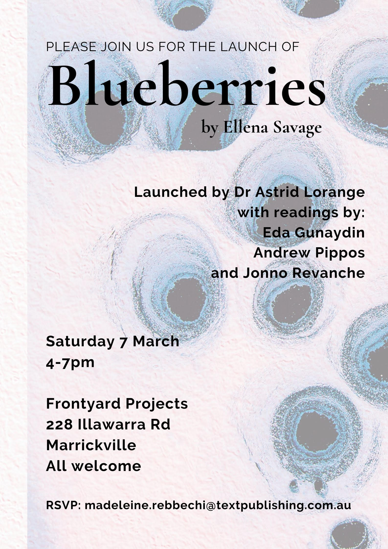 Bluebs_Sydneylaunch invite